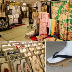 A fancy kimono can cost thousands of dollars. When going outside, a kimono is not worn with shoes, but with a pair of zori or geta, two kinds of footwear with thongs. There are special socks that can be worn with the shoes.