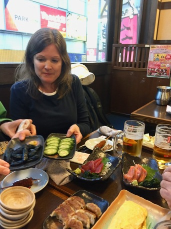 Many restaurants specialize in one type of food. Izakaya are casual and pub-like, offering tapas style cuisine.